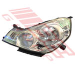 HEADLAMP - L/H - (1777) - ELEC ADJ - TO SUIT NISSAN WINGROAD - Y12 - 2006-
