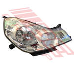 HEADLAMP - R/H - (1777) - ELEC ADJ - TO SUIT NISSAN WINGROAD - Y12 - 2006-