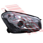 HEADLAMP - R/H - HID TYPE - TO SUIT - NISSAN QASHQAI/DUALIS - J10 - 2010-  F/LIFT