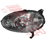 HEADLAMP - R/H - CHROME (IC1704) - TO SUIT NISSAN MARCH/MICRA  K12  2003-