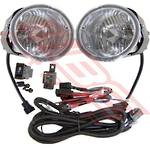 FOG LAMP - SET - L&R - W/WIRING & SWITCH - TO SUIT NISSAN NAVARA D22 2002-  FACELIFT