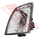CORNER LAMP - L/H - CLEAR LENS - UNIT TYPE - CERTIFIED NSF - TO SUIT  NISSAN X-TRAIL - T30 - 2000-