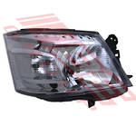 HEADLAMP - R/H - MANUAL - TO SUIT - NISSAN CARAVAN NV350 2011-
