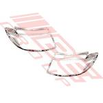 HEADLAMP FRAME SET - CHROME - L&R - REPLACEMENT PART FOR FORD RANGER 2012-