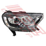 HEADLAMP - R/H - WILDTRACK - XLT **MANUAL ADJUST ONLY** - FORD RANGER 2015-  F/LIFT