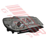 HEADLAMP - L/H - MANUAL - CHROME - TO SUIT HOLDEN COMMODORE VF 2015-