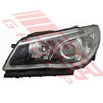 HEADLAMP - L/H - MANUAL - TO SUIT BLACK - HOLDEN COMMODORE VF 2015-