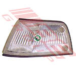 CORNER LAMP - L/H - CLEAR (041-5148)  - TO SUIT HONDA CIVIC EF SDN 1988-89