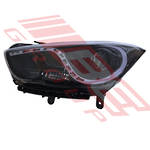 HEADLAMP - L/H - WITH LED - MANUAL - TO SUIT - HYUNDAI I40 2012-  SEDAN