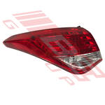 REAR LAMP - L/H - LED TYPE - TO SUIT - HYUNDAI I40 2012-  SEDAN