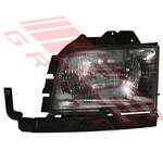 HEADLAMP - L/H - (IKI 1587) - TO SUIT - ISUZU BIGHORN - UBS69 1995- F/LIFT