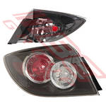 REAR LAMP - L/H - OUTER - UNIT TYPE - CERTIFIED NSF - TO SUIT MAZDA 3 2007-5DR