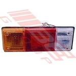 REAR LAMP - R/H - TRUCK - UNIVERSAL - TO SUIT MAZDA BONGO E1600 1980-85