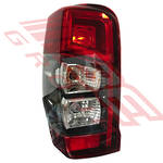 REAR LAMP - L/H - BULB TYPE - TO SUIT MITSUBISHI TRITON L200 2019-