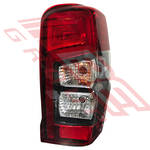REAR LAMP - R/H - BULB TYPE - W/LED STRIPE - TO SUIT MITSUBISHI TRITON L200 2019-