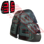 REAR LAMP SET - L&R - LED - SMOKEY LENS - TO SUIT TOYOTA HILUX 2015-