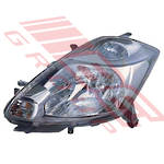 HEADLAMP - L/H - (100-51762) - MNL ADJUST - TO SUIT TOYOTA PASSO - QNC10 - 5DR H/B - 2005-