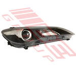 HEADLAMP - R/H - MANUAL - BLACK - ECE - TO SUIT TOYOTA CAMRY 2015-  F/LIFT