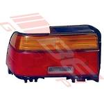 REAR LAMP - L/H - AMBER/RED/CLEAR - TO SUIT TOYOTA COROLLA AE100 SDN 1992-
