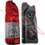 REAR LAMP - L/H - TO SUIT TOYOTA HIACE 2014-  F/LIFT LATE