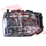 HEAD LAMP - R/H - TO SUIT TOYOTA COASTER B60/B70 BUS 2016-