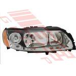 HEADLAMP - R/H - ELECTRIC - GREY - TO SUIT VOLVO V70/XC70 2005-07